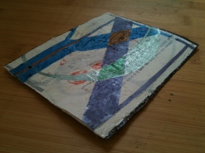 Get your NYC on! :Coasters from Repurposed plastic