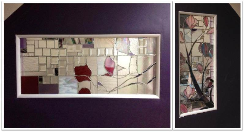 Magnolia Stained Glass Project _ Final step installation
