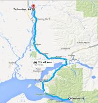 Day 4- Girdwood to Talkeetna